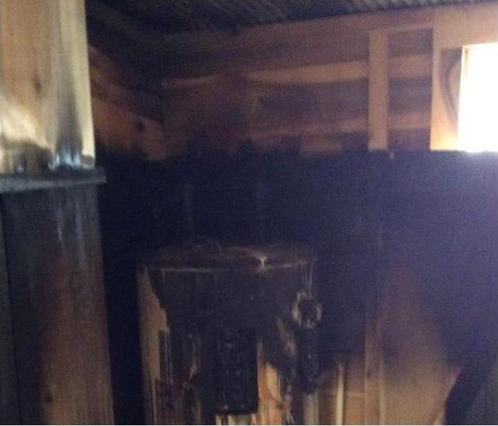 Water Heater Fire Mishap in Edgewood Before