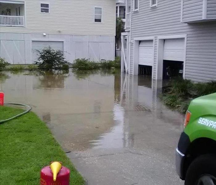 Conway Condo Flooding Before