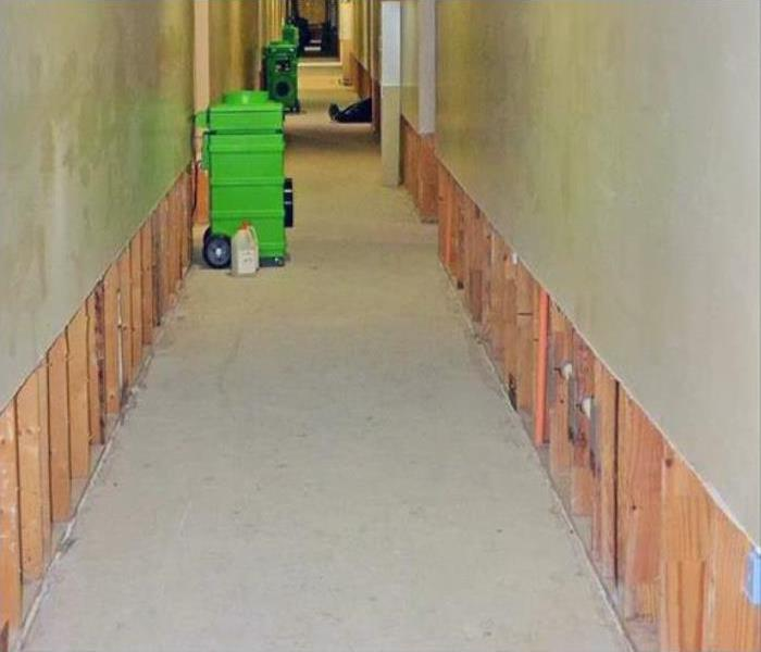 Commercial Water Damage In Pine Castle After