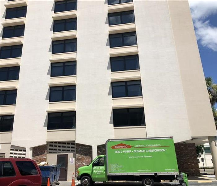 Downtown Orlando Commercial Water Loss Rescue