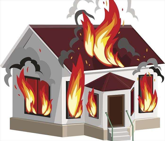 Fire Damage Types of Smoke Residue that Accumulate after Fire Damage to Your Edgewood Home