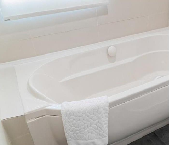 Why SERVPRO Has an Overflowed Tub Caused Your Conway Home to Need Water Cleanup Services?