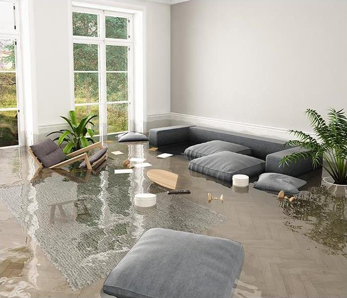Storm Damage How SERVPRO Fixes Flood Damage Caused By Hurricanes To Your Belle Isle Property