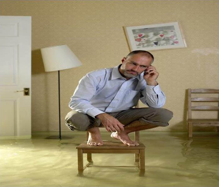 Storm Damage How Our Experts At SERVPRO Help You Cope After A Flood Causes Damage To Your Conway Home